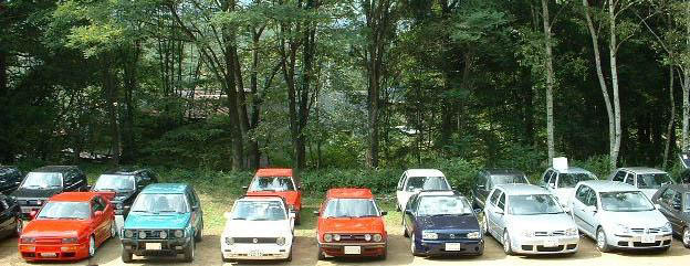 The VW's Day in Nagano
