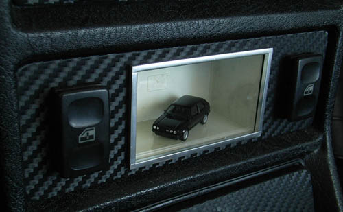 power window switches panel with minicar ver 3 my volkswagen mk2 golf 3m. Black Bedroom Furniture Sets. Home Design Ideas