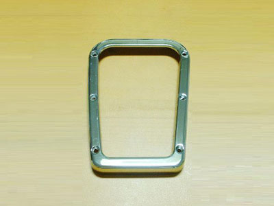 Shift frame (Aluminium look)