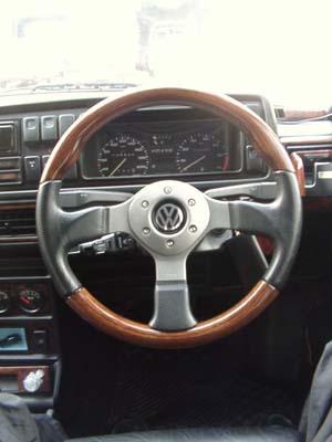 MOMO Fighter Wood Steering wheel - My Volkswagen Mk2 Golf