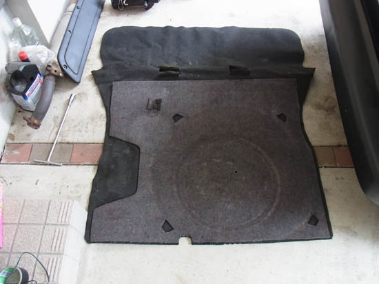 Mk2 Golf Boot Carpet Carpet Vidalondon