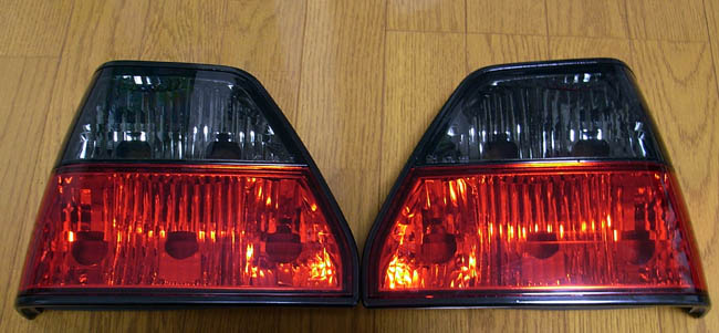 Crystal Smoke/Red Taillights