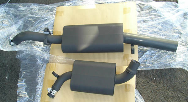 Exhaust System for VW Golf Mk2