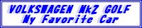 My Volkswagen Mk2 Golf BBS
