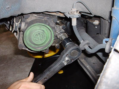 Manual Transmission Oil Change - My Volkswagen Mk2 Golf, www