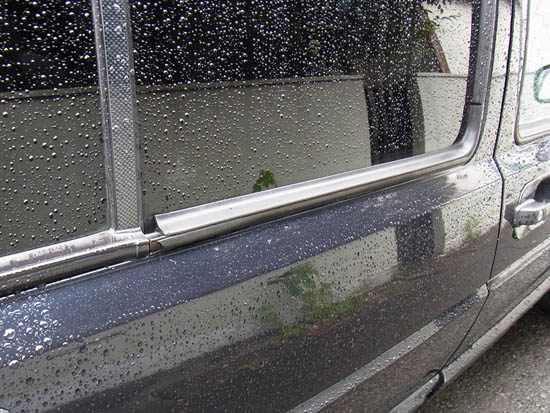 VW Golf Mk2 big door window seals / guides