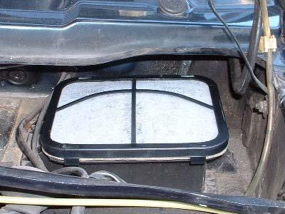 pollen filter cabin filter my volkswagen mk2 golf. Black Bedroom Furniture Sets. Home Design Ideas