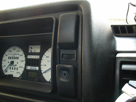 VW GOLF MK2 wiper speed controller