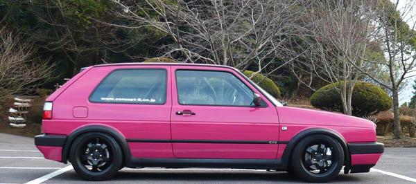 Golfijiro 1989 Volkswagen Golf Mk2 Ci 3dr