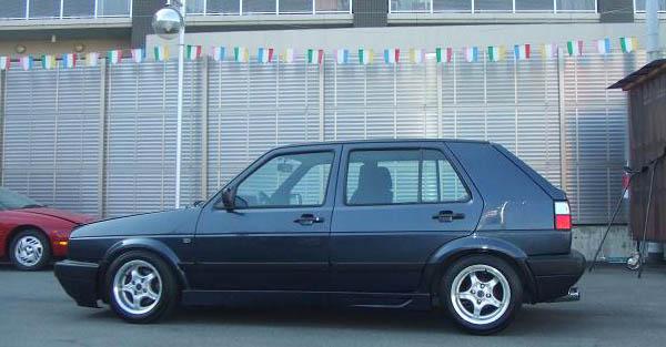 Shua S 1988 Volkswagen Golf Mk2 Cli